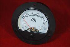 DC 0-100uA Round Analog Ammeter Panel AMP Current Meter Dia. 90mm Direct Connect
