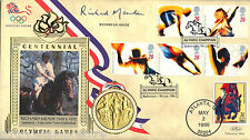 More details for 1996 olympics - benham gold medal official - signed by richard meade