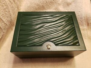 Green ROLEX SA - GENEVE SUISSE 31.00.64 Watch Box  (Box Only)