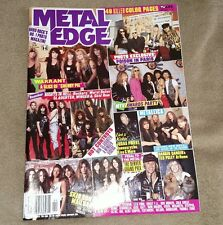 METAL EDGE  magazine 2/1991 warrant/danger danger/slaughter/winger/ratt