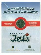 2012 CANADA WINNIPEG JETS 50 CENT HALF DOLLAR MINT IN PACKAGE