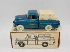ERTL 1955 PICKUP TRUCK BANK BEAM COLLECTORS OF DISTRICT 5 [ No. 9 ] [ 1 of 500 ]