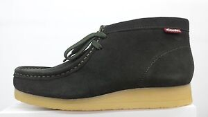 NEW CLARKS STINSON HI EXCLUSIVE DARK OLIVE GREEN SUEDE WALLABEE STYLE BOOT 22822