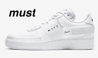 """Nike Air Force 1 Type-2 """"White/Black"""" Men's Trainers All Sizes."""