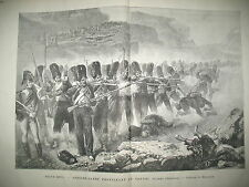 INFANTERIE GUERRE D'ESPAGNE CONGO LOANDA DE BRAZZA REVOLTE SOUDAN GRAVURES 1883