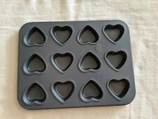 Mini Heart Muffin Pan - 12-Cup - Preferred Non-Stick - FOX RUN