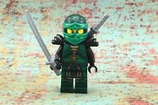 Lego Mini Figure Ninjago Lloyd Hands of Time Black Armor from Set 70626