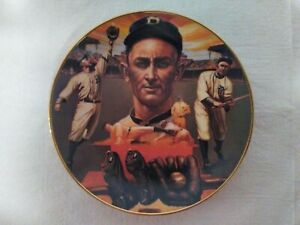 Ty Cobb (The Georgia Peach) Limited Edition Plate by Ron Lewis - in original box