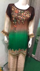 Pakistani Asian Style EID Party Wear Wedding Dress With Dupatta Salwar Kameez