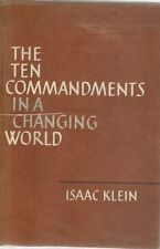 The Ten Commandments in a Changing World 1963 1st Edition HC BOOK