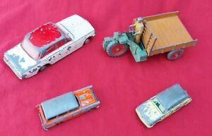 Dinky Meccano Spot On Cresta Lesney Matchbox Benbros scrapyard old toy cars