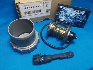 Thermostat 85° Umrüstkit  mit Widerstand für BMW E38 E39 X5 Landrover M62 uvm.