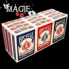 Jeu Bicycle Rider Back  X12 - Cartouche - Tour de Magie - Poker