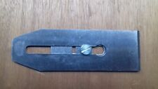 """Stanley 60mm 2.3/8"""" 0-12-315 NOS wood plane blade & adjuster plate NOS"""