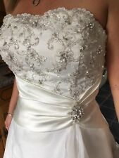 wedding dress size 12