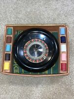 Vintage E.S. Lowe Roulette Game - Missing Ball