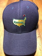 masters collection golf hat 1934 navy 100% wool Augusta National new w/tags