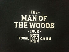 Justin Timberlake The Man of the Woods Le Local Crew Xl T-Shirt Nwot