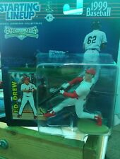 1999 Starting Lineup Extended Series JD Drew Figure New Hasbro