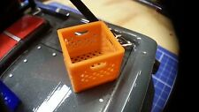 1:24/25 Scale Milk Crate - RC Micro Crawler Garage Accessory ambush losi trekker