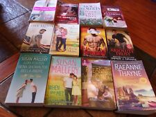 Lot of 12 Contemporary Romance Books~Susan Mallery~RaeAnne Thayne~Lori Foster+