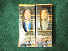 Justin Timberlake & Lance Bass Bobbleheads Vintage N SYNC in box