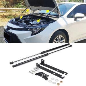For Toyota Corolla E210 2020 2021 Black Engine Hood Shock Strut Damper Lifter