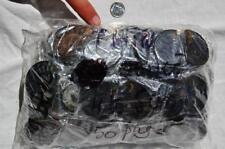 7949b LOT of FIFTY/50 RARE 1n100 BLACK Ammonite PAIR Crystal FOSSIL MEDIUM 4-5cm