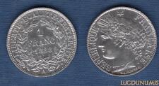 III République 1871-1940 1 Francs Cérès 1888 A Paris SUP++ (2) Argent