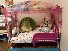 toddler girl canopy bed
