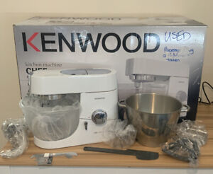 Kenwood Chef Titanium Limited Edition KMC015 1400W 4.6L HARDLY USED
