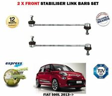FOR FIAT 500L 2013-> 2X FRONT LEFT + RIGHT  STABILISER SWAY LINK BAR SET