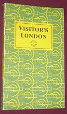 VISITORS LONDON by Harold F. Hutchison 10th Edition 1964