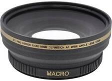 0.43x Wide Angle Lens for Panasonic AG-HMC150 AG-HPX250 AG-AC130A AG-AC160A