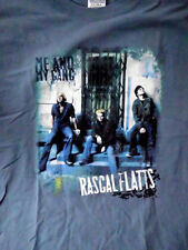 Rascal Flatts t shirt Me and My Gang tour mens size LARGE
