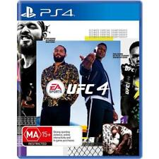 UFC 4 PS4 Playstation 4 Game - Disc Like New