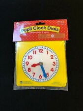 Learning Resources Pupil Clock Dials SHELF PULL - Same Day Free Shipping