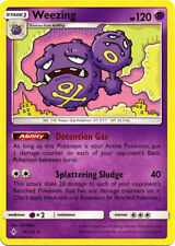 4x Pokemon Sm Unbroken Bonds Weezing #74 Rare Near Mint