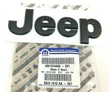 2015-2020 Jeep Renegade front hood black Nameplate Emblem new OEM 68247412AA