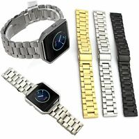 Stainless Steel Wrist band Replacement For Fitbit Blaze Activity Tracker watch