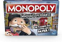 Monopoly Mauvais Perdants Jeu de societe Version française