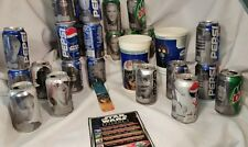 Star Wars Epsode I Pepsi Cans 26  2 Drink Cups  Book Mark
