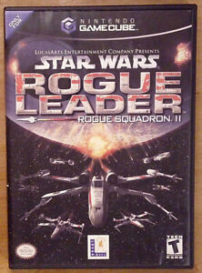 Star Wars: Rogue Leader -- Rogue Squadron II Authentic(Nintendo GameCube, 2001)