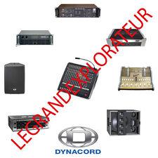 Ultimate Dynacord Service repair manuals & schematics  (250 PDF manual on DVD)