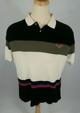 Vintage Thermal Polo Sport 90s Rugby Color Block Shirt Xl/L Flag Ralph Lauren