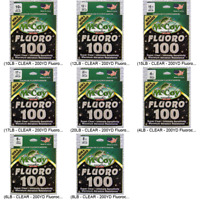 McCoy Fishing Line FLUOROCARBON Clear 200 Yard Spool Choose Any Pound Test