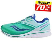 Saucony Kinvara 9 Womens Premium Running Shoes Fitness Gym Trainers Green
