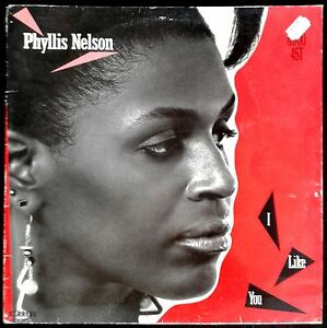 "Phyllis Nelson - I Like You - Spain MAXI SINGLE 12"" Carrere 1985 - CAR 8582"