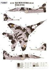 Foxbot Decals 1/72 MIKOYAN MiG-29 FULCRUM Ukrainian Digital Scheme Paint Masks