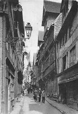 BR47440 la rue aux feves Lisieux       France